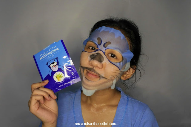 Hanasui Animal Sheet Mask Peel-Off Mask Review