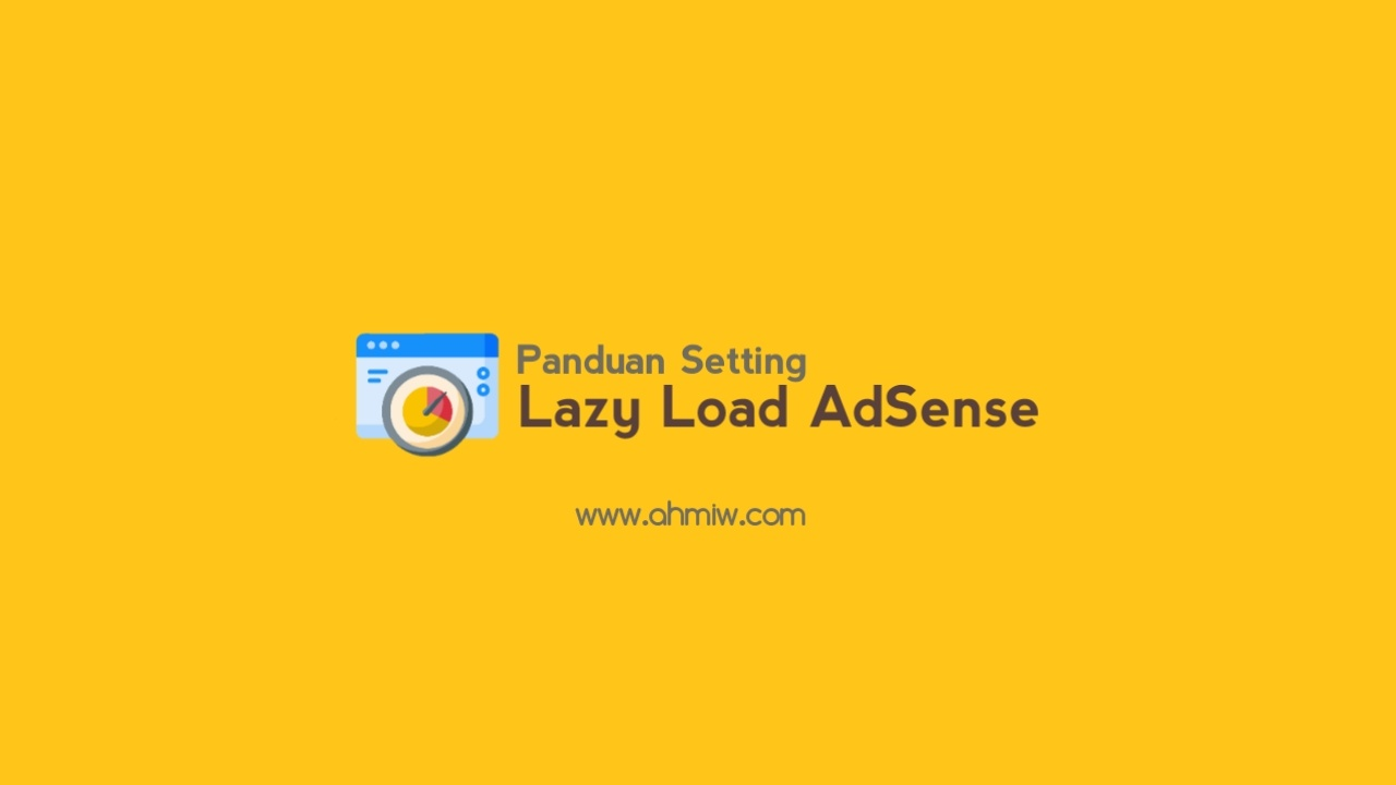Lazy load AdSense di blog