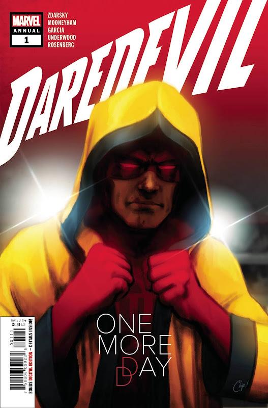 Cover of Daredevil Annual #1