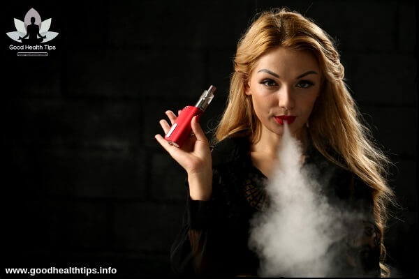 Many people are currently affected cancer by e-cigarette