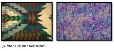 contoh motif abstrak