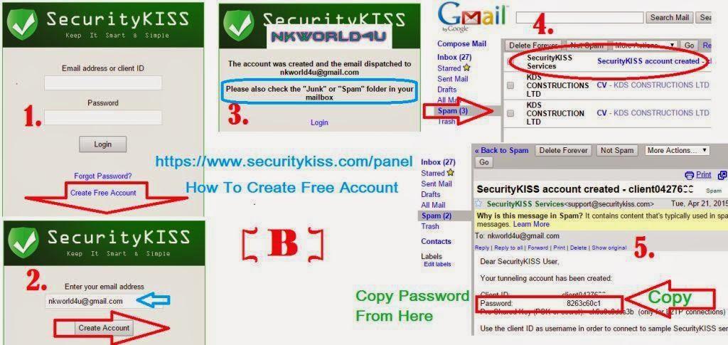 airtel free internet SecurityKISS vpn trick www.nkworld4u.com