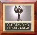 OUTSTANDING BLOGGER AWARD!