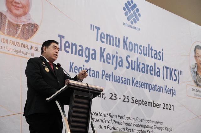 Abdul Hayat Buka Temu Konsultasi Tenaga Kerja Sukarela di Sulawesi Selatan.lelemuku.com.jpg