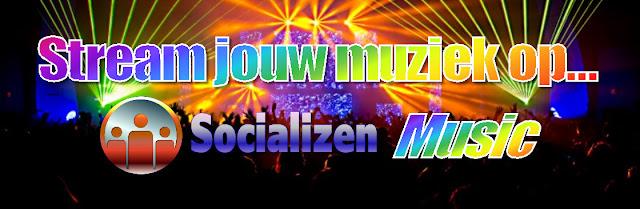 Stream je muziek op Nederlandse muziekstreaming-dienst SocializenMusic!