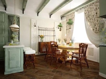 Kitchen interior english style