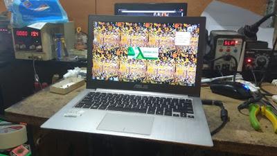 Service Laptop Asus UX32A mati total