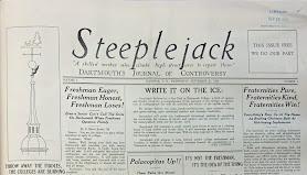 """Masthead of """"Steepejack"""""""