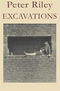 Cover of the book by Peter Riley, Excavations.