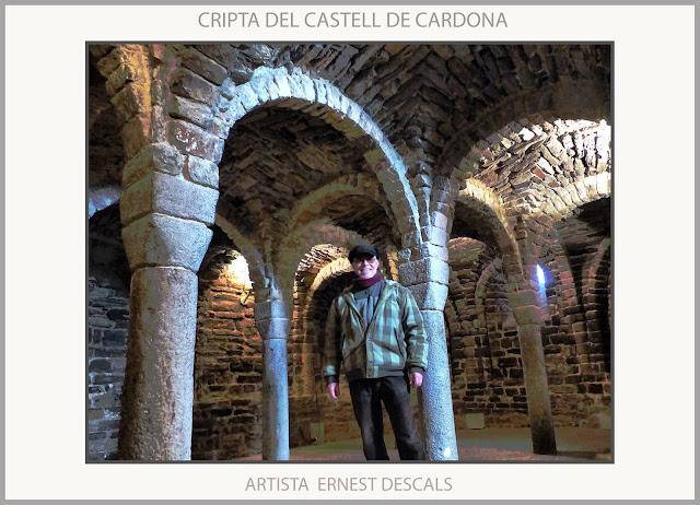 CASTELL-CARDONA-CRIPTA-VISITES-CASTELLS-CATALUNYA-ROMÀNIC-HISTORIA-MEDIEVAL-FOTOS-ARTISTA-PINTOR-ERNEST DESCALS-