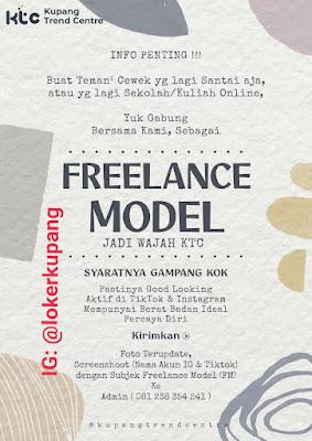 Lowongan Kerja Kupang Trend Centre Sebagai Freelance Model