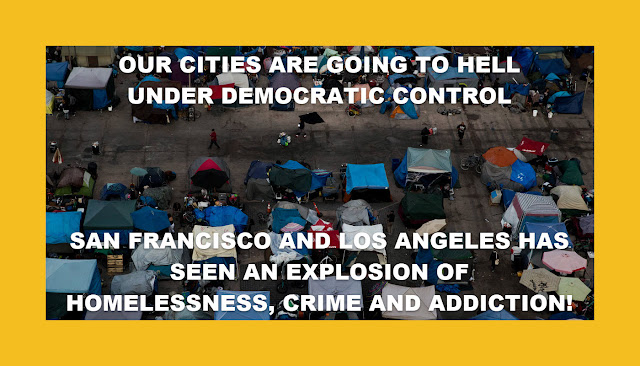Memes: OUR CITIES ARE GOING TO HELL UNDER DEMOCRATIC CONTROL