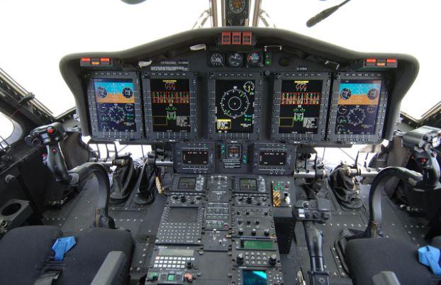 Sikorsky S-92 cockpit