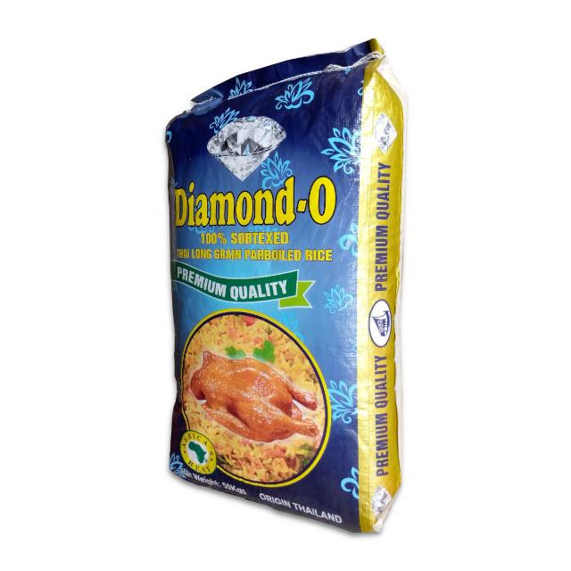 Diamond-O Parboiled Thai Long Grain Rice 50kg