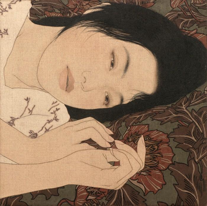 Древняя японская традиция. Ikenaga Yasunari 3
