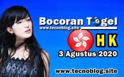 Bocoran Togel HK 3 Agustus 2020
