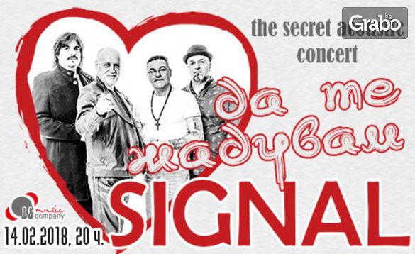 """""""Да те жадувам"""" - тайният акустичен концерт на Сигнал и Вечните любовни песни"""