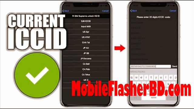 ICCID Code for iOS 14.7.1 and iOS 15  Free Tools Download