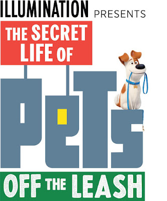 The Secret Life of Pets: Off the Leash Ride Logo, Universal Studios Hollywood