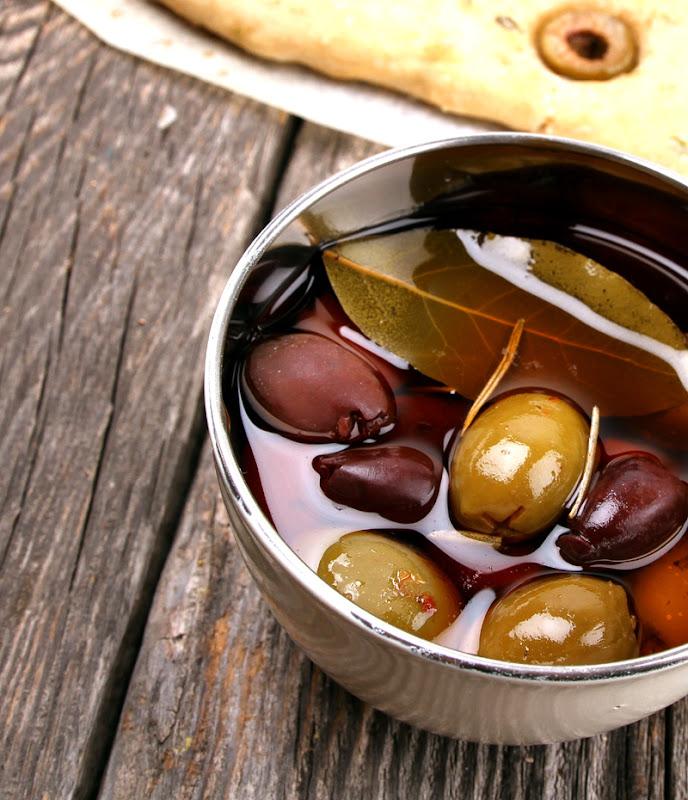 Oppskrift Perfekt Hjemmelaget Focaccia Oliven Timian Hjemmebakt