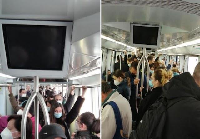 Istantanee dai mezzi pubblici di Roma