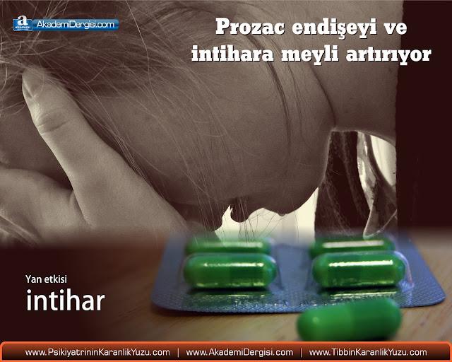 prozac, depresyon, antidepresan, intihar eğilimi, psikiyatrinin karanlık yüzü, yan etkiler, serotonin, the journal nature, tedirginlik,