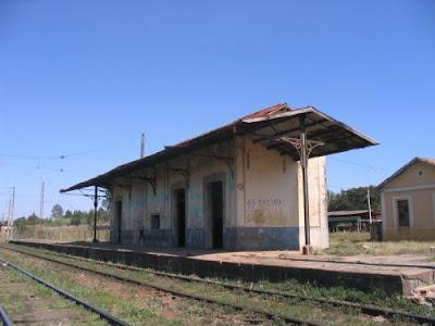 Estação ferroviária do bairro do tatu - Limeira -SP