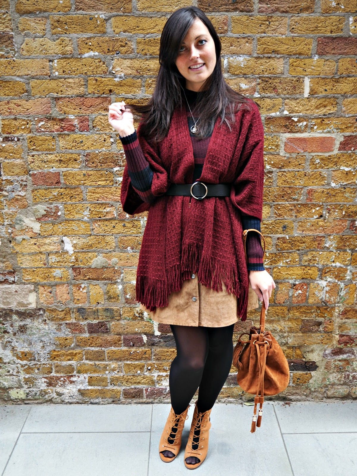 autumn outfit of the day styling post