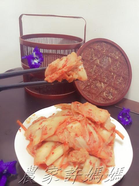 農家許媽媽-非常完美韩国泡菜做法