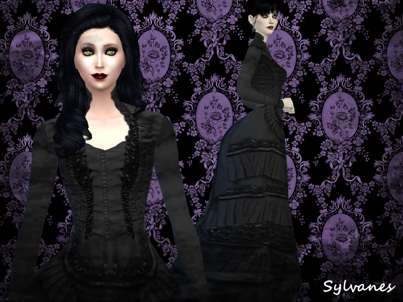 My Sims 4 Blog: Gothic Style Clothing for Males and ...