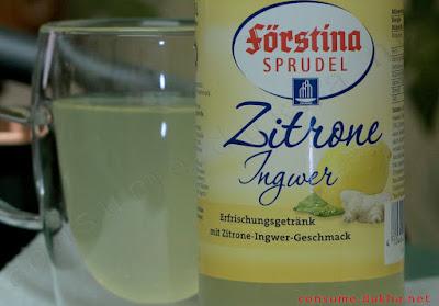 Лимонад Förstina Sprudel лимонно-имбирный
