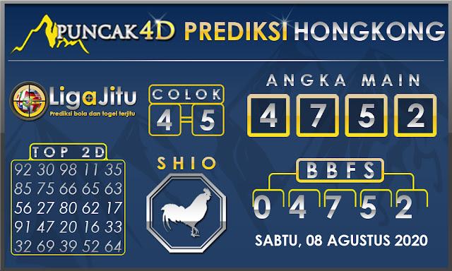 PREDIKSI TOGEL HONGKONG PUNCAK4D 08 AGUSTUS 2020