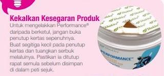 Tips Untuk Elak Serbuk Performance Drink Shaklee Jadi Keras