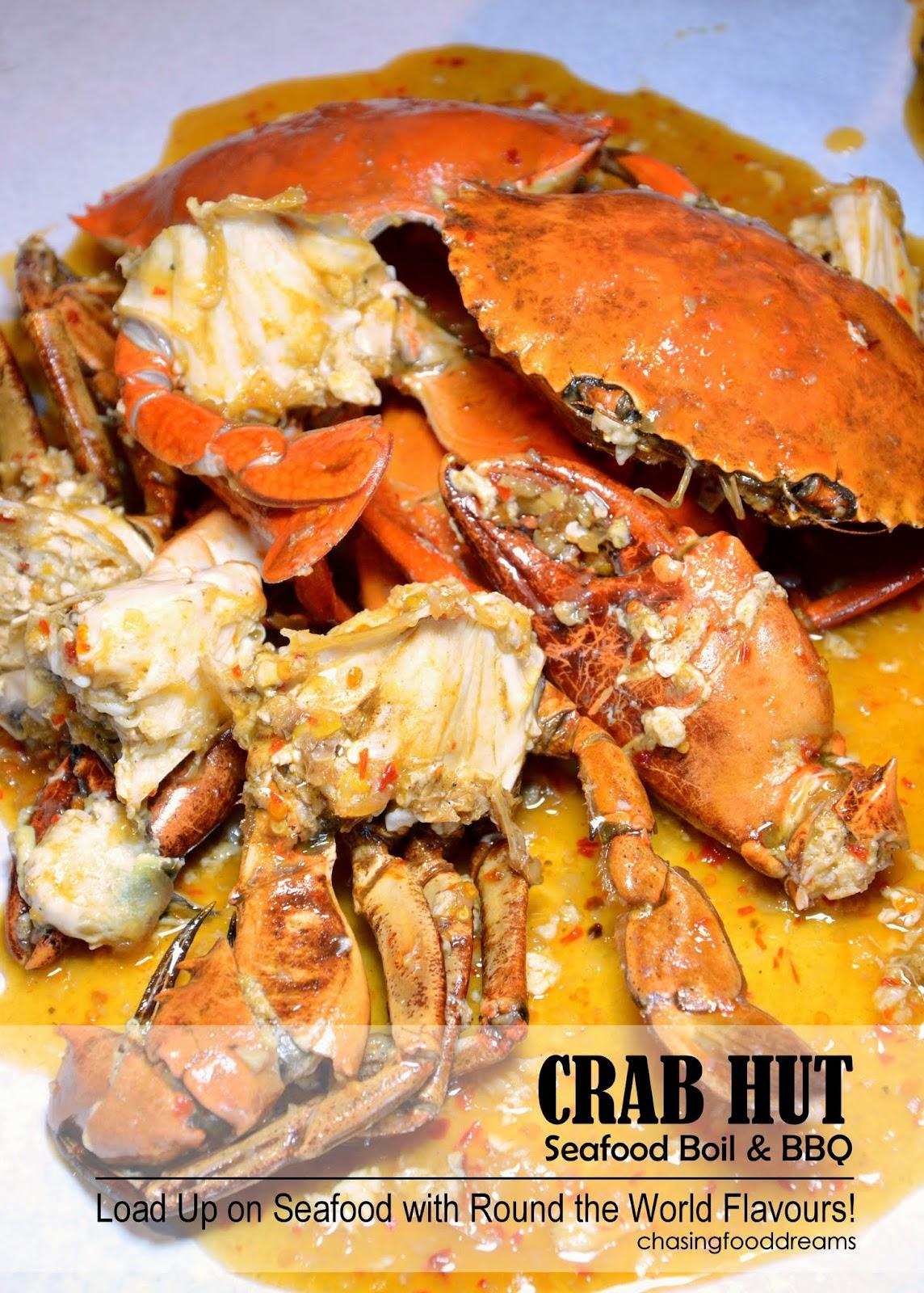 Chasing Food Dreams Crab Hut At Shaftbury Square Cyberjaya