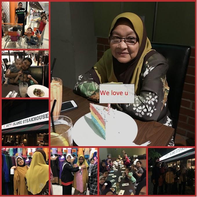 Celebrate Birthday Mak tersayang