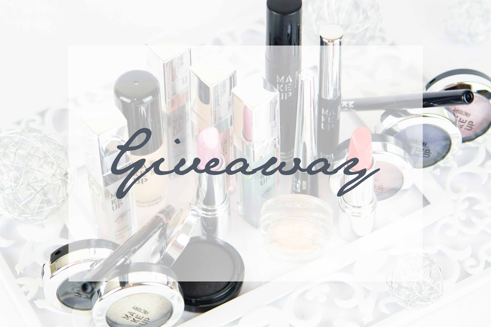 Dark Elegance of a Swan Make Up Factory Giveaway