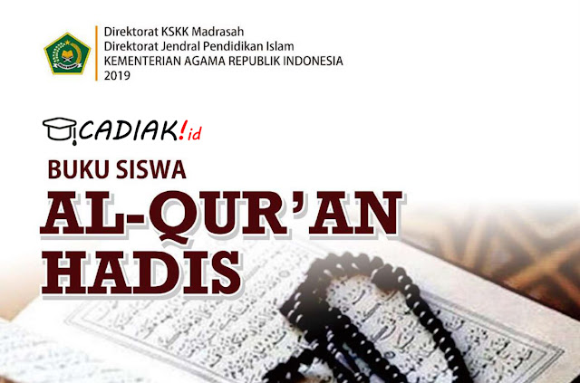 Buku Paket Alquran Hadist Kelas 8 MTs Kurikulum 2013 Revisi 2019 PDF