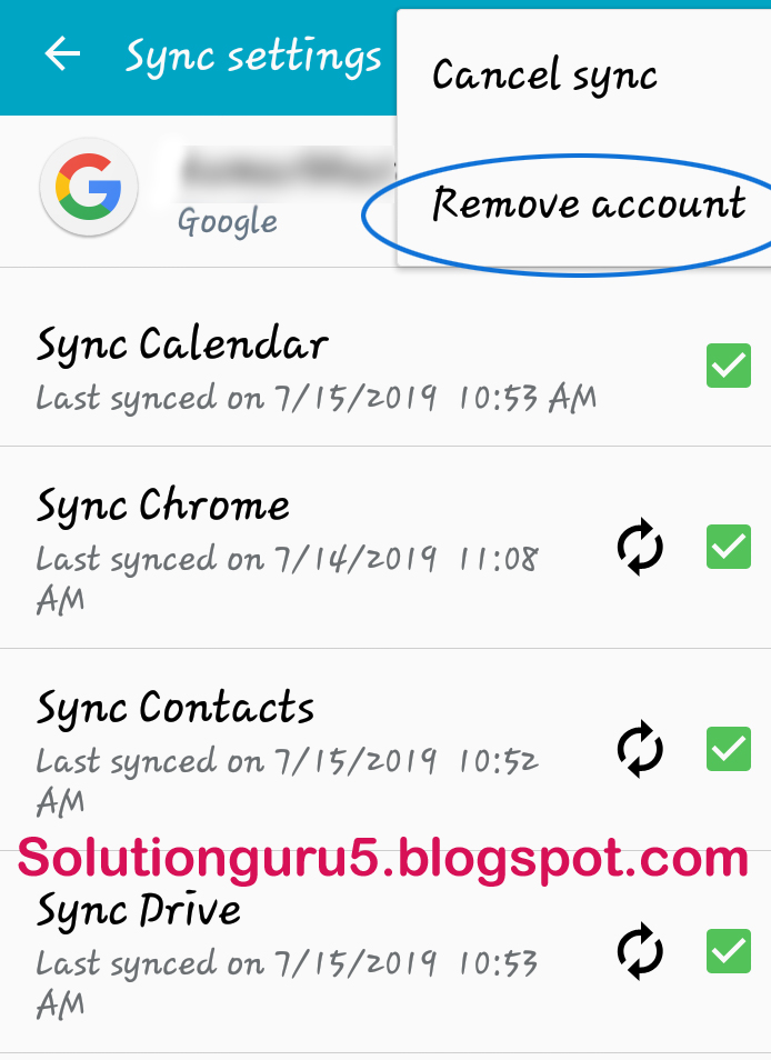 Gmail account ko mobile se SignOut kaise kare