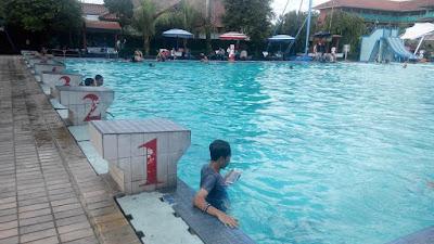 kedalaman kolam renang HS agung