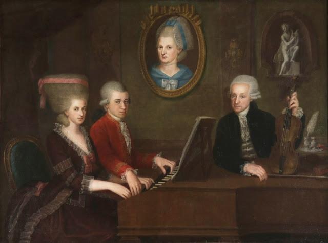 Retrato de família de Mozart, Johann Nepomuk della Croce