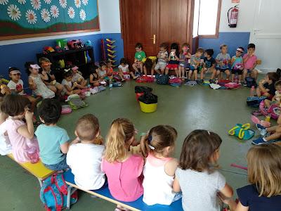 Visita a l'escola de Sant Francesc