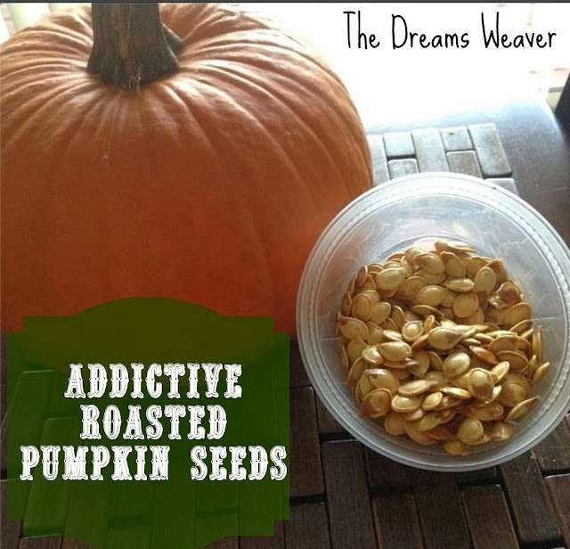 Once You Pop, You Can't Stop ~ Easy, Addictive Roasted Pumpkin Seeds