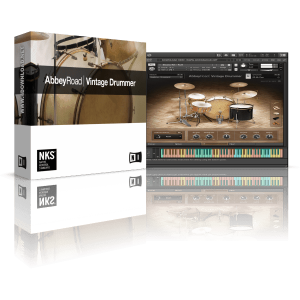 Native Instruments Abbey Road Vintage Drummer KONTAKT Library