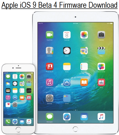 Apple iOS 9 Beta 4 Free Download