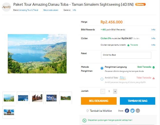 Paket Wisata Danau Toba Terbaik Tahun 2019