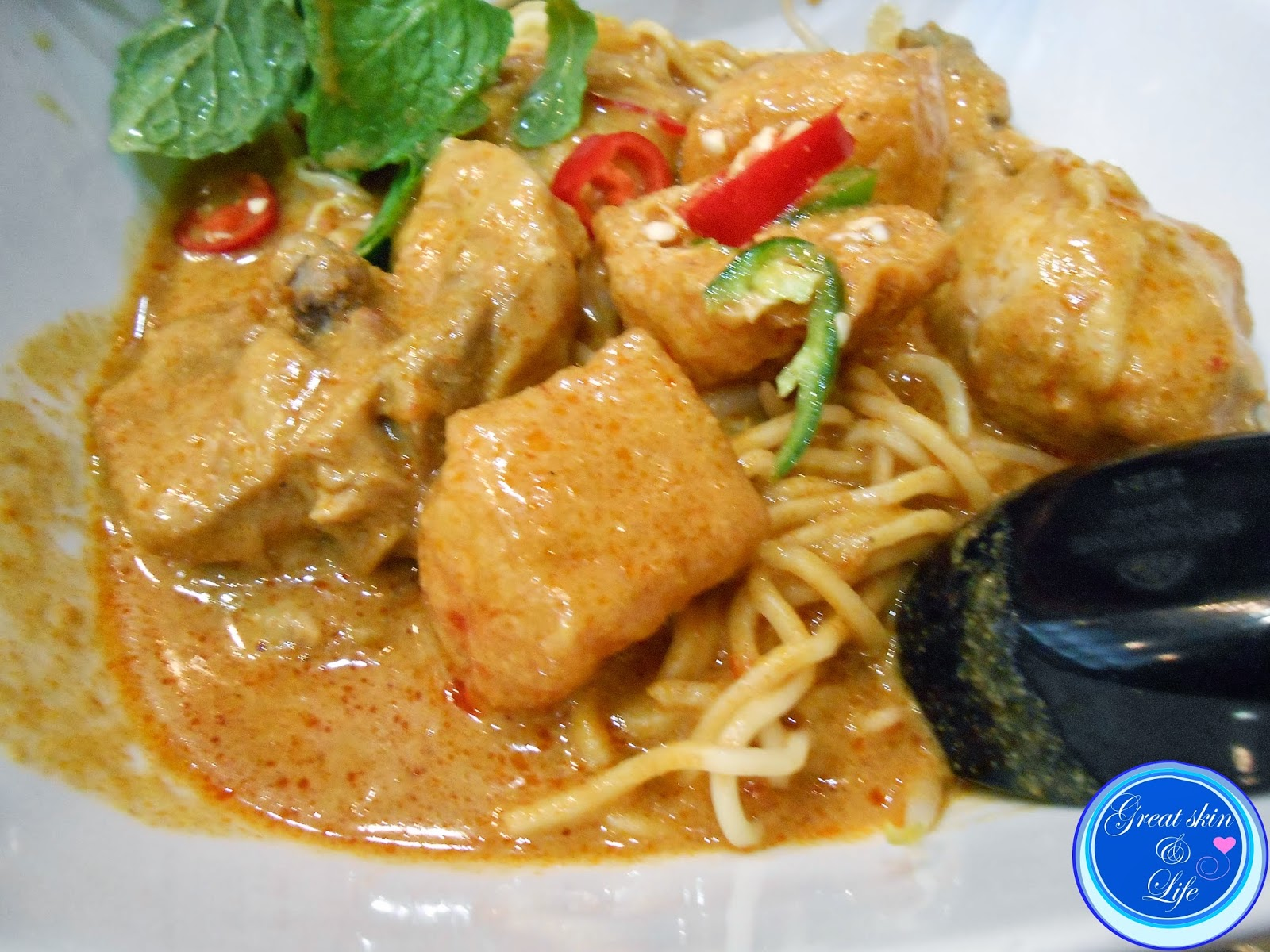 NYONYA COLORS dry curry mee