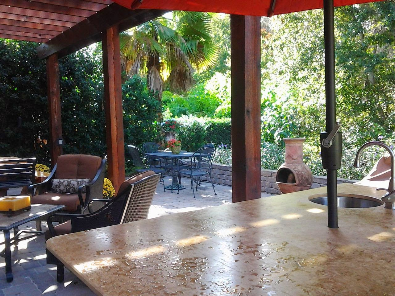 Back Yard Before and After: Orlando, FL