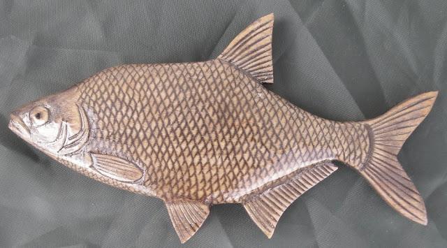 деревянные рыбы России - густера