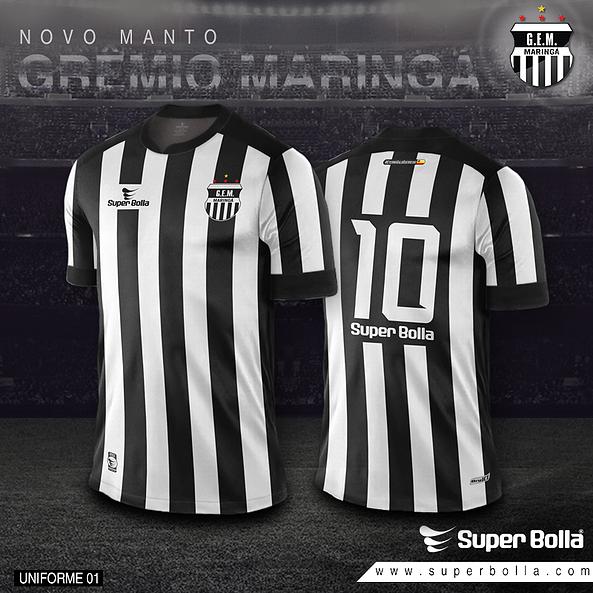 ce0929937b Super Bolla lança camisas do Grêmio Maringá - Show de Camisas
