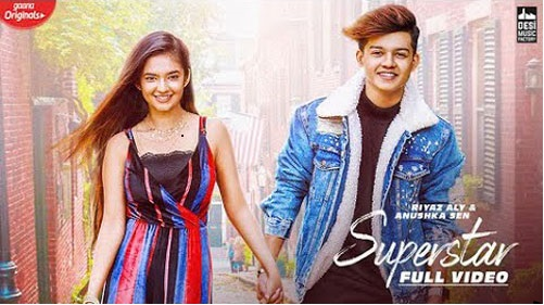 SUPERSTAR Lyrics - Riyaz Aly and Anushka Sen -Neha Kakkar